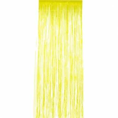 Folie deurgordijnen geel 2 meter