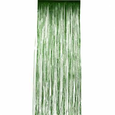 Folie deurgordijnen groen 2 meter