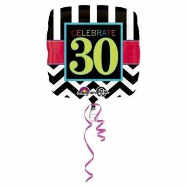 Folieballonnen happy 30th birthday