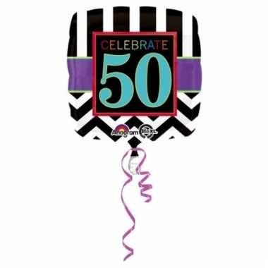 Folieballonnen happy 50th birthday