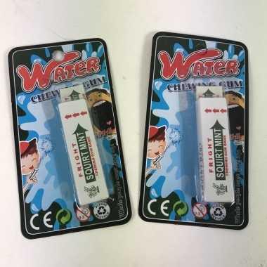 Fopartikelen kauwgom 1 april grap kantoorgrappen