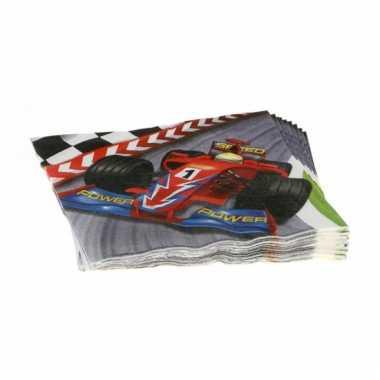 Formule 1 serie servetten 20 stuks