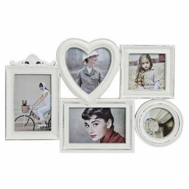 Foto frame white wash 43 x 28 cm