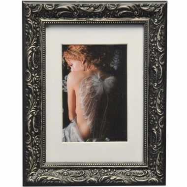 Fotoframe barok zwart 13 x 18 cm