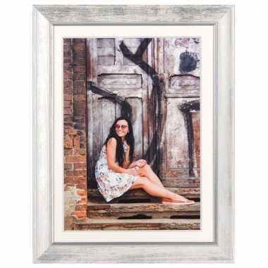 Fotoframe modern wit 15 x 20 cm