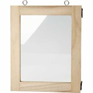 Fotolijst beschilderen 14 x 17 cm