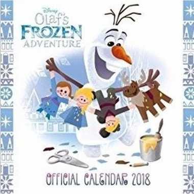 Frozen afbeeldingen kalender 2018