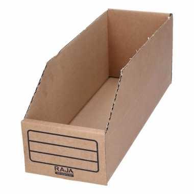 Garage/schuur opslag/sorteer bakjes 10 x 30 cm
