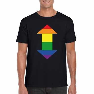 Gay shirt pijl versatile zwart heren