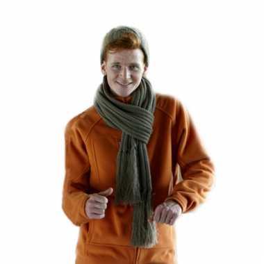 Gebreide sjaal 2 meter