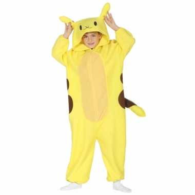 Geel hamster kostuum voor kinderen
