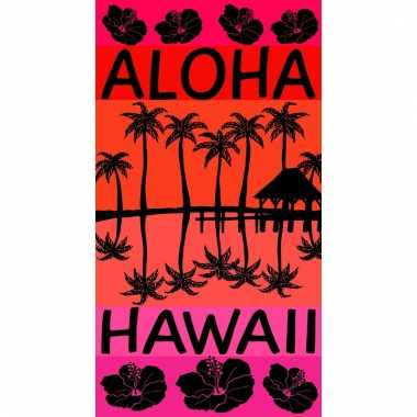 Gekleurd strandlaken aloha 95/100 x 175