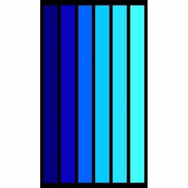 Gekleurd verticale streepjes strandlaken 86 x 160