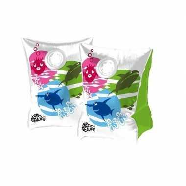 Gekleurde beco zwemmouwtjes maat 0 15-30 kg