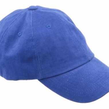 Gekleurde blauwe baseballcaps