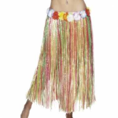 Gekleurde hawaii rok voor vrouwen