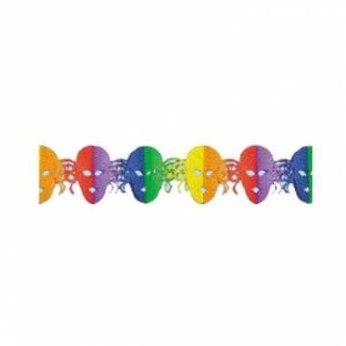Gekleurde masker slinger