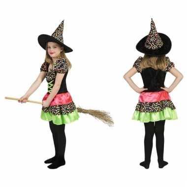 Gekleurde oktoberfest jurk voor meisjes