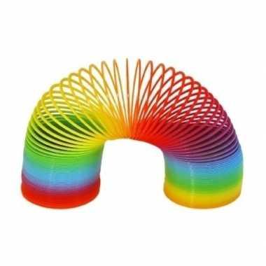 Gekleurde regenboog trapveer