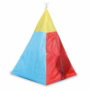 Gekleurde wigwam tent voor kids