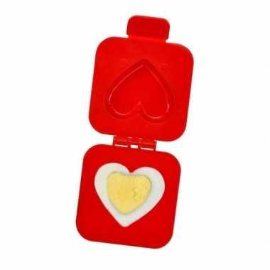 Gekookt ei vormer hartje valentijn cadeau