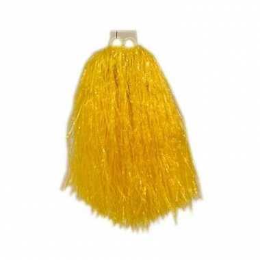 Gele cheerballs 33 cm