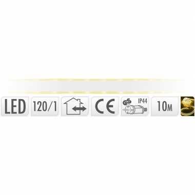 Gele lichtslang ledstrip 10 meter