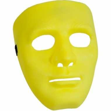 Gele maskers