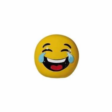 Gele spaarpot emoji lol 13 cm