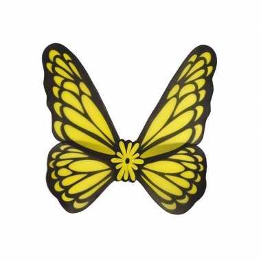 Gele vlinder vleugels volwassenen