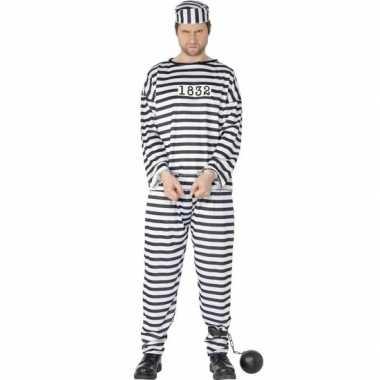 Gevange boef verkleedkleding