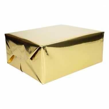 Goud cadeaupapier metallic