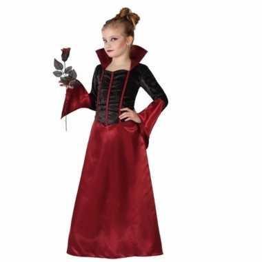 Gravin dracula jurk voor meisjes zwart