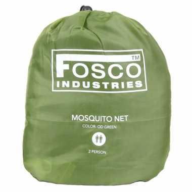 Groen 2-persoons net tegen insecten