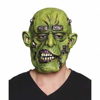 Groen horror ogre monster masker van latex