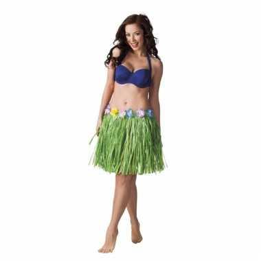 Groen tropisch strorokje voor dames