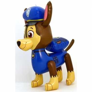 Groot opblaas figuur chase paw patrol 58 cm