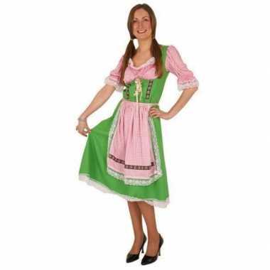 Halflange oktoberfest jurk
