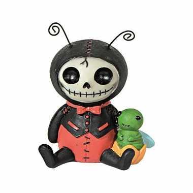 Halloween decoratie beeldje lieveheersbeestje