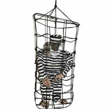 Halloween decoratie gevangene 100 cm