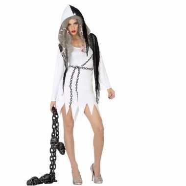 Halloween geest jurkje voor dames