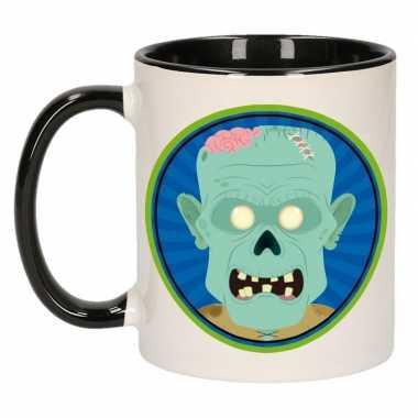Halloween - halloween zombie mok / beker 300 ml
