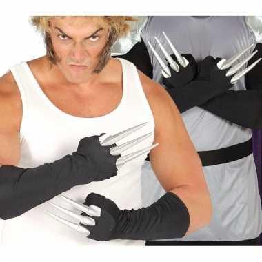Halloween handschoenen met 3 vingers