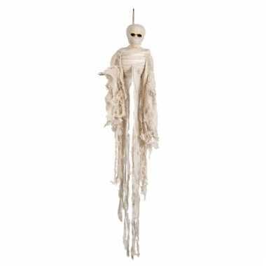 Halloween hangdecoratie mummie 100 cm