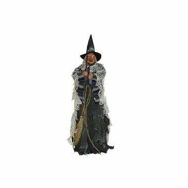 Halloween heksen decoratie 80 cm