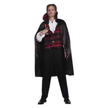 Halloween herenkleding vampier emperor