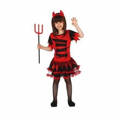Halloween kostuum duivel voor meisjes