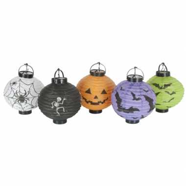 Halloween thema lampionnen 10 stuks