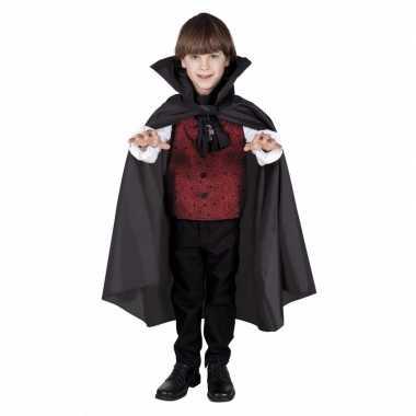 Halloween verkleedcape vampier voor kinderen