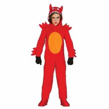 Halloween verkleedkleding rode duivel voor kids